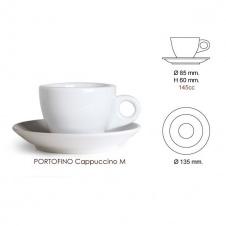 Šálek Nuova point Portofino - cappuccino