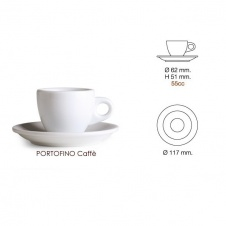 Šálek Nuova point Portofino espresso