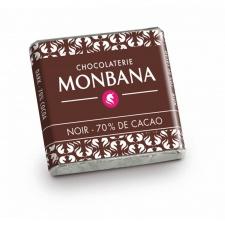 Monbana hořká čokoláda 70% 200ks