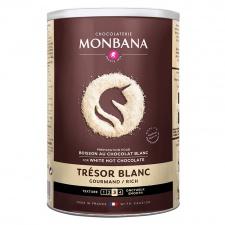 Monbana bílá horká čokoláda 500g