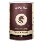 Monbana Trésor de Chocolat bílá čokoláda 500g