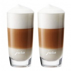 JURA set sklenic na Latte Macchiato 270ml