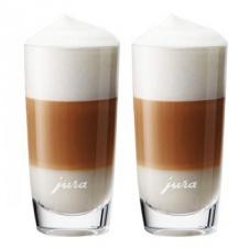 JURA set sklenic na Latte Macchiato 300ml