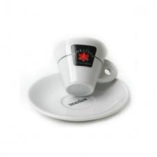 Šálek Mokaflor espresso podšálkem