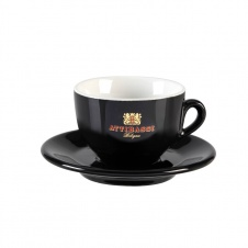Šálek Attibassi nero cappuccino