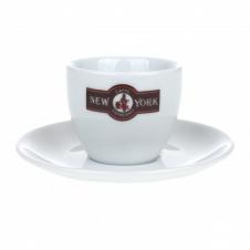 Šálek New York Caffé espresso s podšálkem