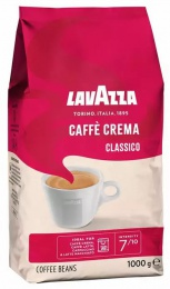 Lavazza Classico Caffé Crema - 1kg, zrnková káva