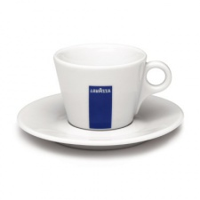 Šálek Lavazza cappuccino s podšálkem
