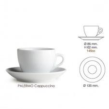 Šálek Nuova point Palermo cappuccino