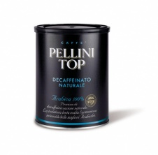 Pellini TOP 100% Arabica DEC - 250g, mletá doza