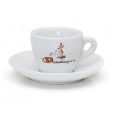 Šálek Passalacqua cappuccino s podšálkem